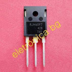 Transistor Igbt Rjh60f7 Rjh 60f7 Original Kit Com 8 Peças
