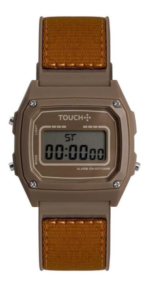 Relógio Unissex Touch Marrom Twjh02bs/8m