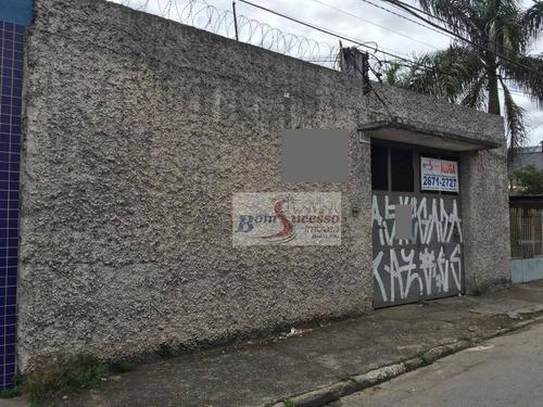 Imagem 1 de 30 de Galpão Para Alugar, 480 M² Por R$ 8.000,00/mês - Chácara Mafalda - São Paulo/sp - Ga0110