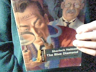 Sherlock Holmes The Blue Diamond Oxford Dominoes One