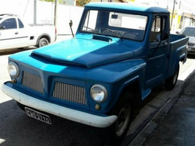 Pickup Ford F-75 Camionete Rural