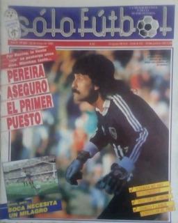 Solo Futbol N°204 Poster Union.alianza San Juan.rafaela