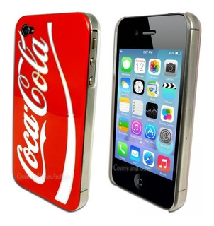 Capa Coca Cola Apple iPhone 4 iPhone 4s Pronta Entrega