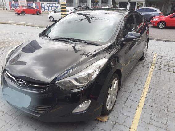 Hyundai / Elantra Gls 1.8 16v 2013 Preto
