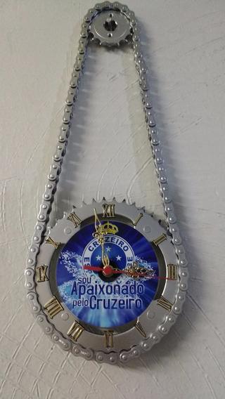 Relógio De Parede Cruzeiro Artesanal De Relação De Moto