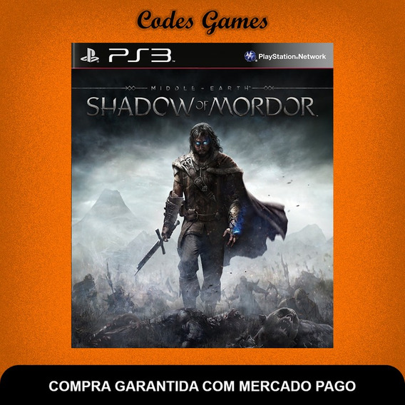 Middle-earth Shadow Of Mordor - Ps3 - Pronta Entrega
