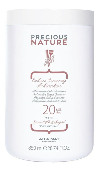 Activador Extra Cremoso Precious Nature 20vol (6%) 850ml
