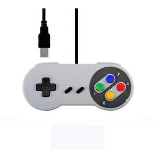 Mando Usb Retro Super Nintendo Snes Gamepad,control Joystick