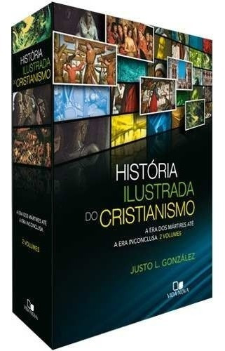 História Ilustrada Do Cristianismo Box 2 Vol Ed Vida Nova