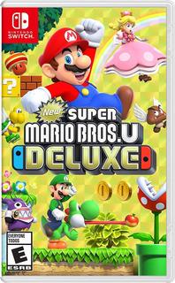 Super Mario Bros U Deluxe Nintendo Switch Juego Sellado