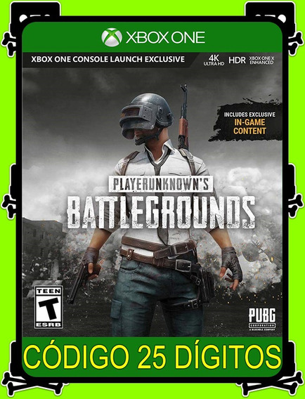 Battlegrounds Complete Xbox - 100% Original (25 Dígitos)