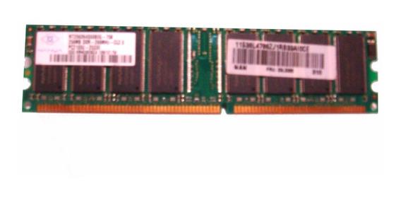 Memoria Ram Pc Ddr 266mhz 128mb Nanya, Ultima Unidad! Usada