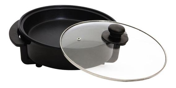 Panela Elétrica Amvox Grill Redonda Antiaderente Ape 4000