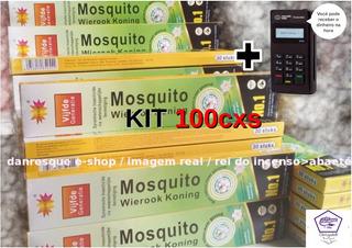 100caixas Incenso Contra Insetos Repelentes Mosquito +brinde