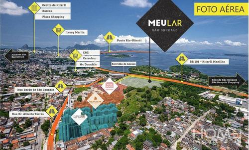 Apartamento À Venda, 44 M² Por R$ 179.000,00 - Neves - São Gonçalo/rj - Ap2615