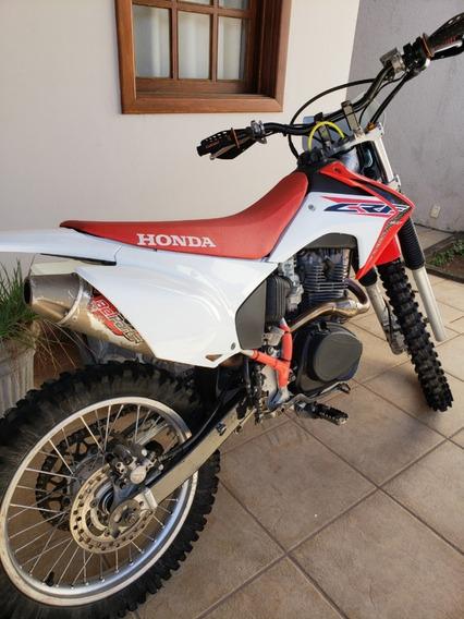 Moto Honda Crf230f Suspensão Dianteira Preparada Semi Nova