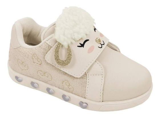 Tênis Pampili Sneaker Luz Ovelhinha 017290