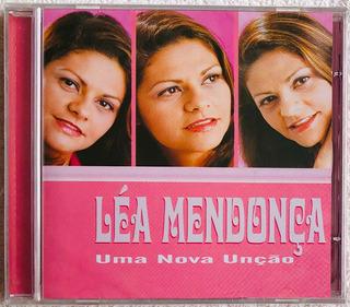 Cd Léa Mendonça Uma Nova Unção 2001 Lacrado Original Raridad