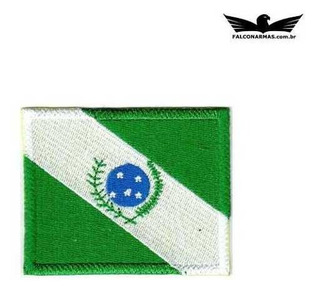 Bordado Termocolante Treme Terra Modelo Bandeira Do Paraná
