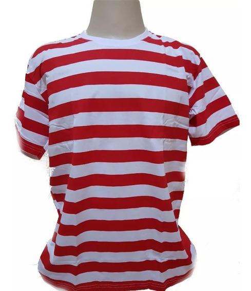 Camisa Listrada Estilo Malandro