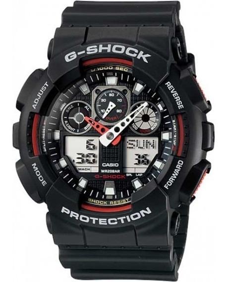 Relógio Casio Masculino G-shock Ga-100-1a4dr 11302 Original