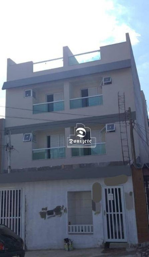 Cobertura Com 2 Dormitórios À Venda, 126 M² Por R$ 438.000,00 - Vila América - Santo André/sp - Co11472