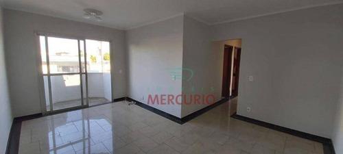 Apartamento Com 3 Dormitórios À Venda, 80 M² Por R$ 295.000 - Vila Nova Santa Clara - Bauru/sp - Ap3846
