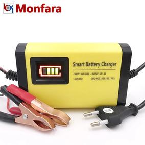 Carregador De Bateria Veicular + Brinde