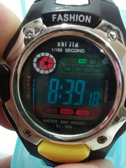 Relógio Esportivo Unissex Para Academia Moderno Top Barato