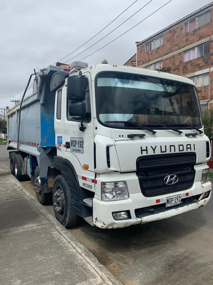 Volqueta Doble Troque Hyundai Hd 320