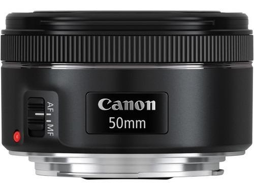 Lente Canon Ef 50mm F/1.8 Stm - Lacrada Na Caixa Com Nota