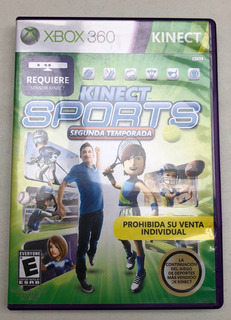 Kinect Sports Segunda Temporada Xbox 360