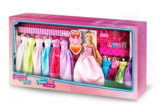 Muñeca Kiara Princesa C/accesorios Vestidos Nenas Juego
