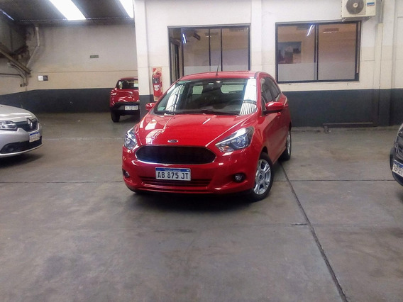 Ford Ka Sel 2017 Impecable Con Pocos Km (ig)