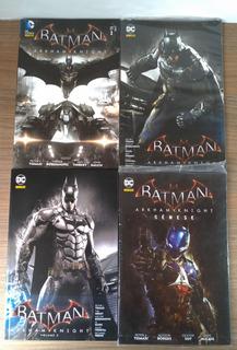 Batman: Arkham Knight Vol. 1 2 3 + Gênese Editora Panini