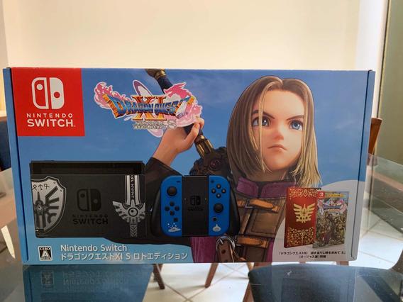 Nintendo Switch Novo Dragon Quest Edition Lançamento.