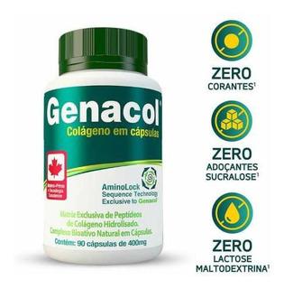 Genacol - Colágeno Hidrolisado Canadense 90 Capsulas