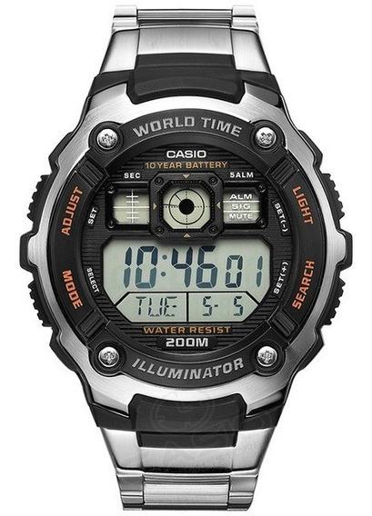 Relogio Casio Digital Masculino Ae2000wd Original