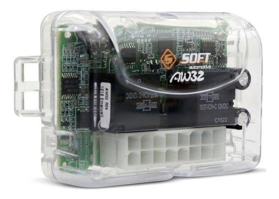 Módulo De Vidro Elétrico Soft Aw32 Universal Antiesmagamento