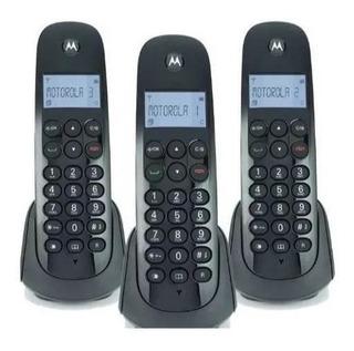 3 Teléfonos Motorola M700-3c Inalámbrico Digital