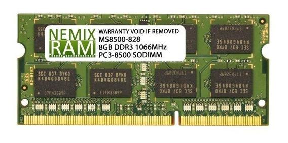 Memoria Ram De 8 Gb Nemix Para Apple Mac Mini 2009 Y 2010.