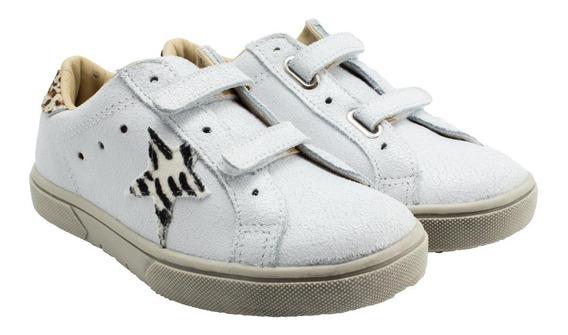 Tênis Infantil Estrela Lateral C/ 2 Velcros Ludique Et Badin