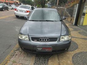 Audi A3 1.8 Completa + Couro 2004 Cinza Gasolina