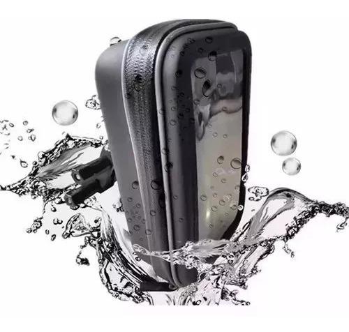 Suporte Resistente Á Água Celular Bicicleta Moto Gps 6 Pol