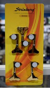 Strinberg Kit Jogo De Tarraxas P/contrabaixo 5 Cordas Bm45gd