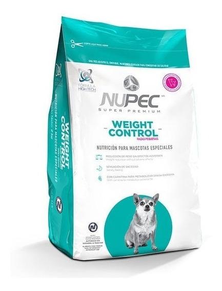 Nupec 4kg Alimento Perro Croqueta Control Peso Raza Pequeña