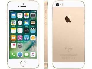 iPhone SE Apple 16gb Dourado 4g Tela 4 - Retina Câm. 12mp