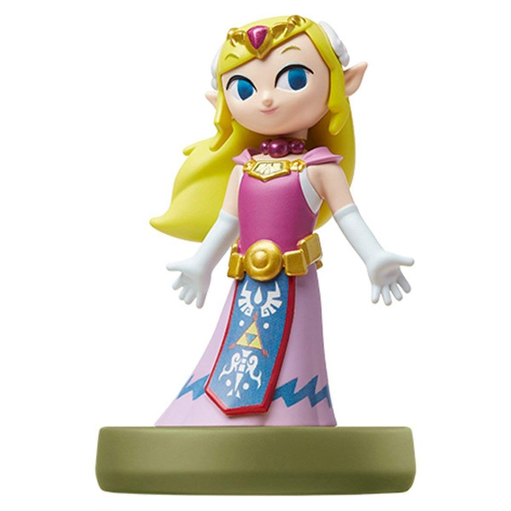 Amiibo The Legend Of Zelda - Figura The Wind Waker Zelda