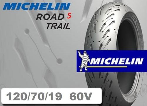 Michelin Pilot Road 5 Trail 120 70 19 60w Envío Gratis