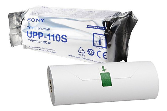 Papel Sony Upp 110s Para Impressoras 897 Produto Original